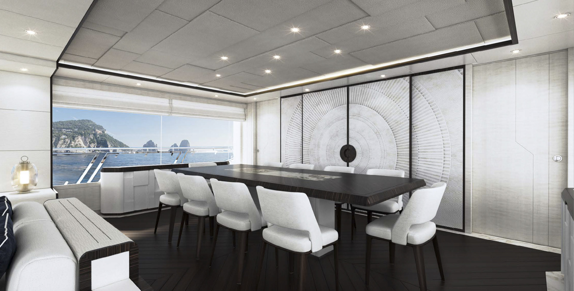 Majesty 120 - Dining Area (1)