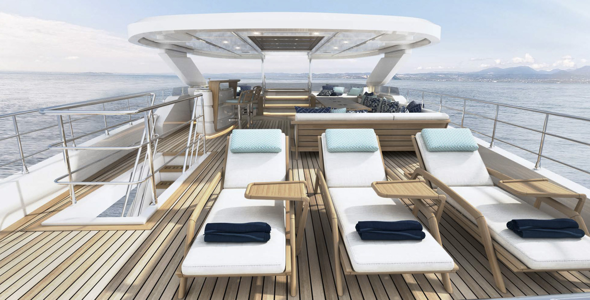 Majesty 120 - Sun deck (4)
